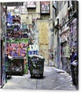 Grafitti Alley Acrylic Print