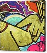Grafitti Curves Acrylic Print