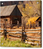 Grafton Homestead Acrylic Print