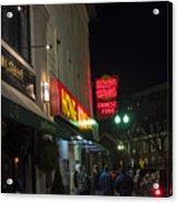 Grafton Street Pub And The Hong Kong In Harvard Square Cambridge Ma Acrylic Print