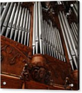 Graham Chapel Pipes Acrylic Print