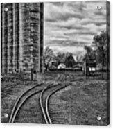 Grain Elevators 15222 Acrylic Print