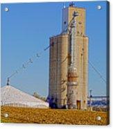 Grain Storage Hdr No1 Acrylic Print
