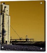 Grain Storage Infrared No2 Acrylic Print