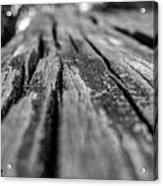 Grains Of Wood Acrylic Print