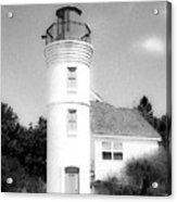 Grainy Lighthouse Acrylic Print