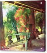 Gramma's Front Porch Acrylic Print