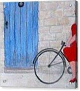 Gran In Provence Acrylic Print