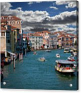 Grand Canal Daylight Acrylic Print