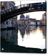 Grand Canal In Venice At Sunrise Acrylic Print