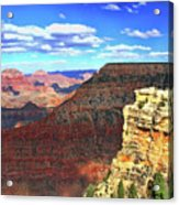 Grand Canyon # 22 - Mather Point Overlook Acrylic Print