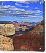 Grand Canyon # 29 - Mather Point Overlook Acrylic Print