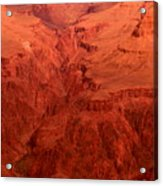 Grand Canyon Depth Acrylic Print