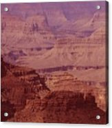 Grand Canyon Distances Acrylic Print