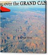 Grand Canyon Flight Acrylic Print