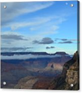 Grand Canyon Moonrise Acrylic Print