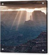 Grand Canyon Morning Light Show Pano Acrylic Print