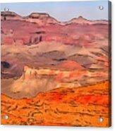 Grand Canyon National Park Summer Acrylic Print