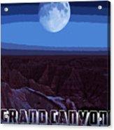 Grand Canyon Nights Acrylic Print