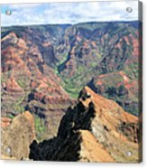 Grand Canyon Of The Pacific Acrylic Print