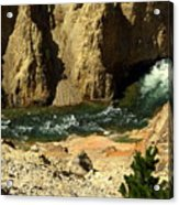 Grand Canyon Of The Yellowstone 3 Acrylic Print