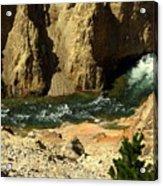 Grand Canyon Of The Yellowstone 3 Acrylic Print