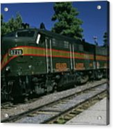 Grand Canyon Railway Train Acrylic Print