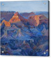 Grand Canyon Study Acrylic Print by Billie Colson