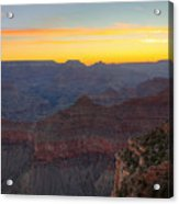 Grand Canyon Twilght Acrylic Print