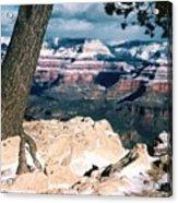 Grand Canyon Winter Acrylic Print