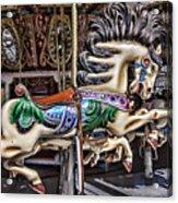 Grand Carousel Hourse Acrylic Print