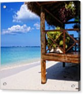 Grand Cayman Relaxing Acrylic Print