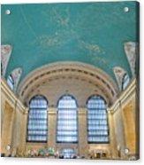 Grand Central Rush Acrylic Print