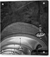 Grand Central Terminal - Arched Corridor Acrylic Print