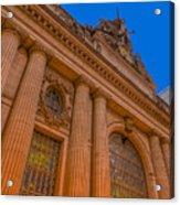 Grand Central Terminal - Chrysler Building Acrylic Print