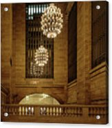 Grand Central Terminal Light Reflections Acrylic Print