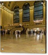 Grand Central Terminal Main Floor Acrylic Print