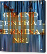 Grand Central Terminal No 1 Acrylic Print