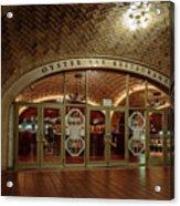 Grand Central Terminal Oyster Bar Acrylic Print
