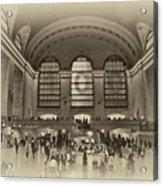 Grand Central Terminal Vintage Acrylic Print
