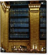 Grand Central Terminal Window Details Acrylic Print
