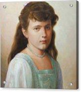 Grand Duchess Anastasia Nikolaevna Of Russia Acrylic Print