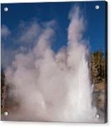 Grand Geyser Eruption Three Acrylic Print