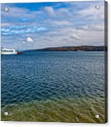 Grand Harbor On Lake Superior Acrylic Print