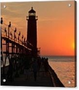 Grand Haven Light Acrylic Print