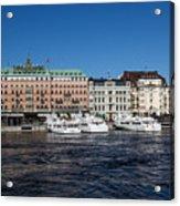 Grand Hotel Stockholm Acrylic Print