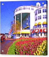 Grand Hotel Tulips Acrylic Print