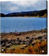 Grand Mesa Lake Acrylic Print