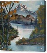 Grand Mountain Acrylic Print