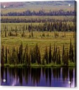 Grand Mountain Reflections Acrylic Print